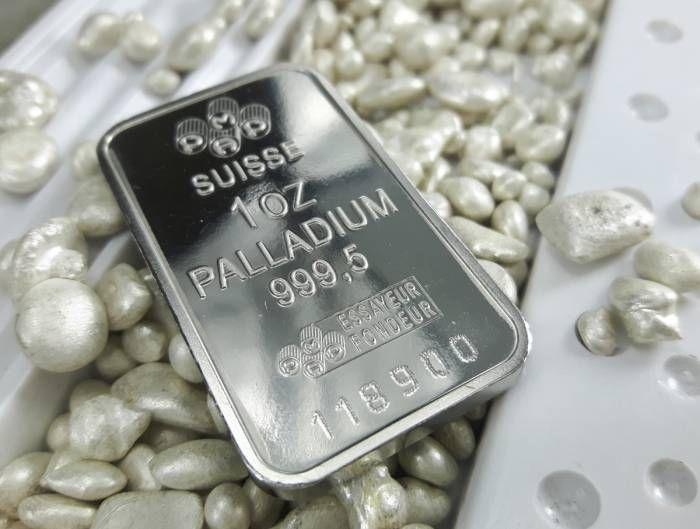 paladio sobre platino
